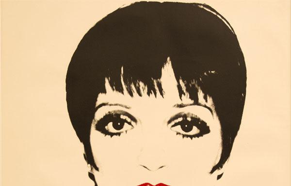 Andy Warhol, Liza Minelli, 1978, Screenprint on paper, 121.9x111.7cm