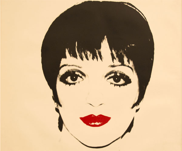 Andy Warhol, Liza Minelli, 1978, Screenprint on paper, 121.9x111.7cm