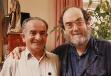 Emilio D'Alessandro e Stanley Kubrick nel documentario S is for Stanley