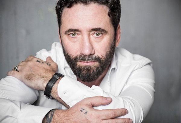 Federico Zampaglione dei Tiromancino, foto di Leandro Manuel Emede