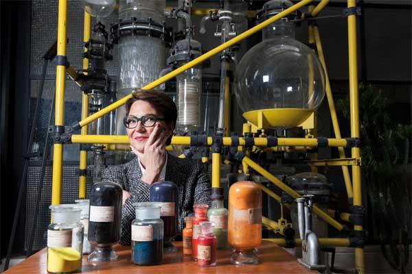 Luisa Torsi, Chimica, docente all'Università degli Studi di Bari e alla Åbo Akademi University in Finlandia. Fotografo Gerald Bruneau, ©Fondazione Bracco