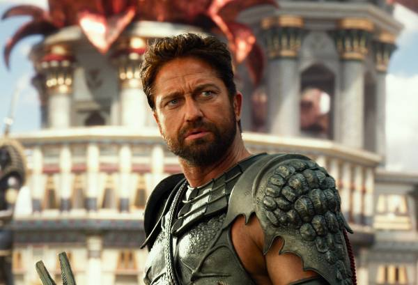 Gerard Butler nel film Gods of Egypt