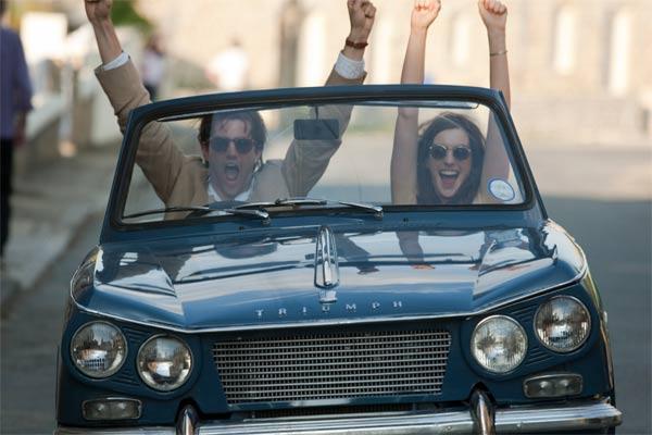 Anne Hathaway e Jim Sturgess nel film One Day
