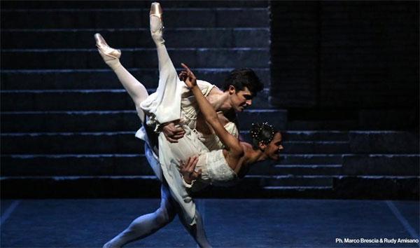 Misty Copeland e Roberto Bolle - Ph. Brescia e Amisano © Teatro alla Scala