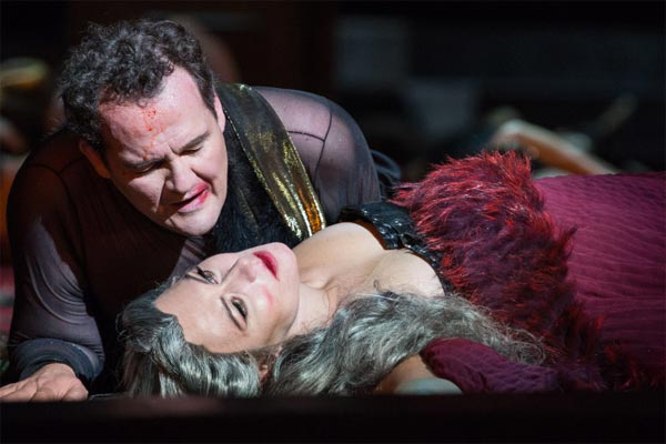 Veronica Simeoni, Russell Braun ®Yasuko Kageyama/ TOR - Opera The Bassarids