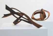 Herbert Ferber, allestimento (Mt. Holly I, 1969, rame / Bartonville I, 1968, rame)