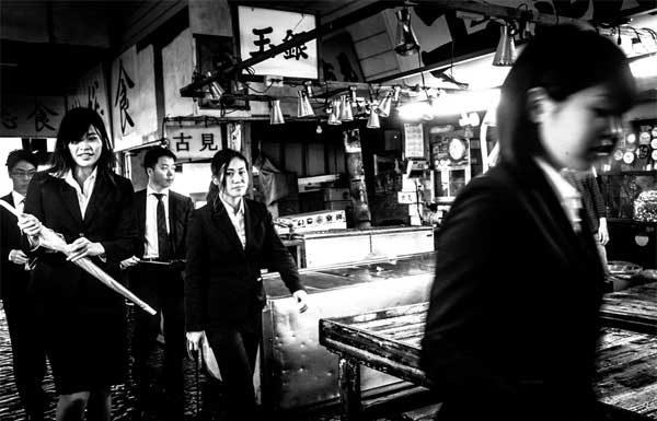Nicola Tanzini, Street Tokyo, 2016 © Nicola Tanzini