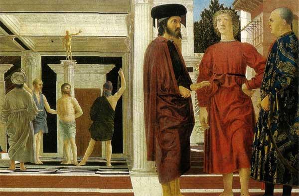 Flagellazione di Piero della Francesca - Museo Italia