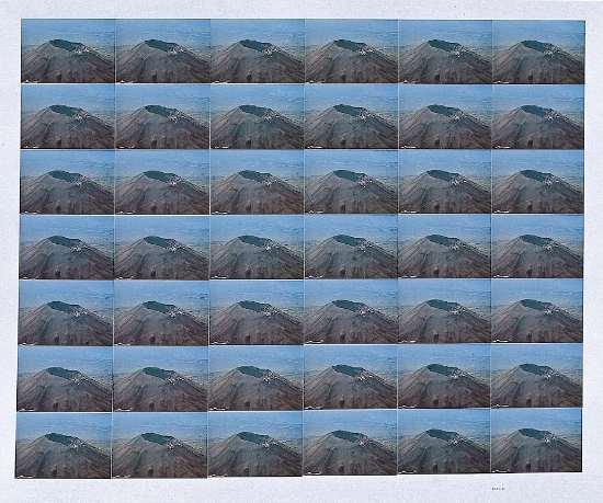 Giannetto Bravi, Paesaggio ripetuto n. 3, 1975, cm 100x80