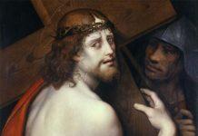 Giovan Pietro Rizzoli detto il Giampietrino, Milano, notizie 1495-1549, Cristo portacroce, Olio su tavola