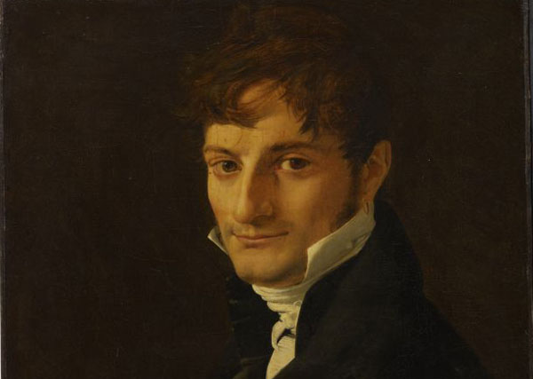 Jean Auguste Dominique Ingres, Portrait of Belvèze-Foulon, 1805, Oil on canvas 55 x 46 cm, Musée Ingres, Montauban