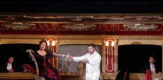 """Maria José Siri e Carlo Lepore nell'opera """"Manon Lescaut"""" di Giacomo Puccini al Teatro alla Scala"""