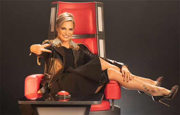 Simona Ventura conduce The Voice of Italy