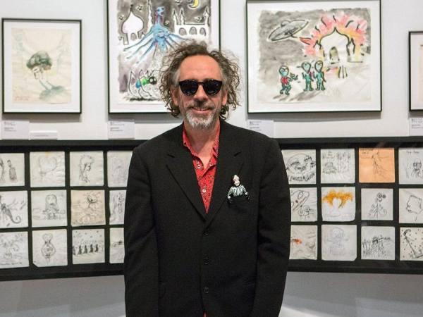 Tim Burton alla 64ª edizione dei Premi David di Donatello