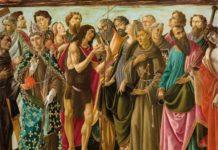 ncoronazione della Vergine e Santi di Sandro Botticelli