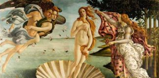 La venere di Botticelli - Giganti del Rinascimento italiano