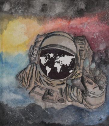 Ausilia Buonamore, L'Eloquente introspezione dell'astronauta