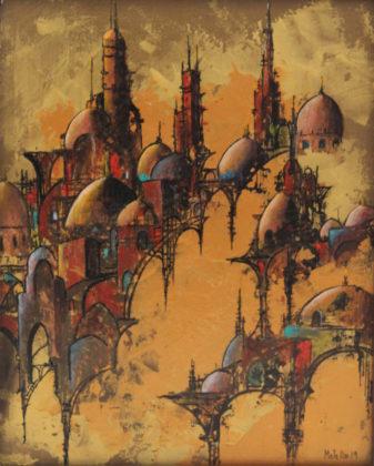Metello Iacobini, Ombre della sera a Gerusalemme