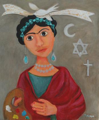 Paola Leonardi, Frida Kahlo: arte come convivenza pacifica