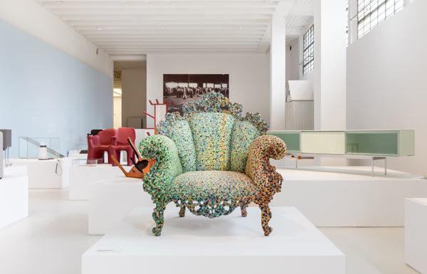 Alessandro Mendini, Poltrona di Proust, 1978, Atelier Mendini - In esposizione al Museo del Design Italiano - © Triennale Milano - foto Gianluca Di Ioia