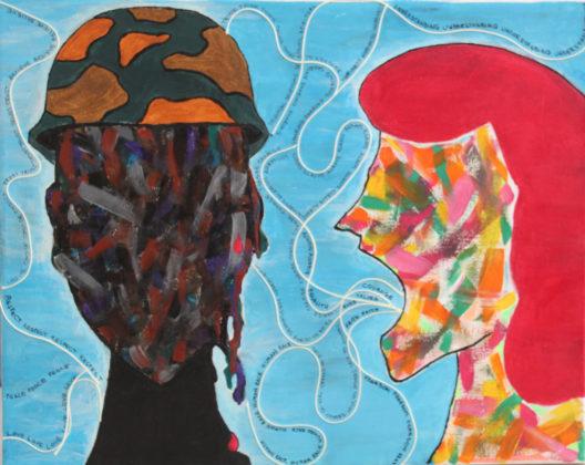 Gaia Mengarelli, Speak aloud the language of peace