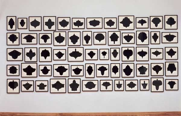 Allana McCollum, Collection of 60 drawings nº 7, ca.1988-1990, Inchiostro su carta di conservazione, Courtesy IVAM, Institut Valencià d'Art Modern