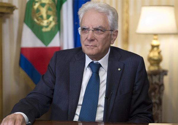 Sergio Mattarella a L'ora di legalità