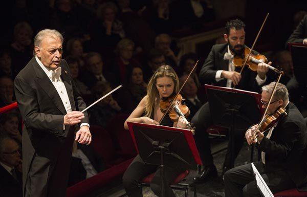 Il direttore d'orchestra Zubin Mehta - Ph Brescia e Amisano