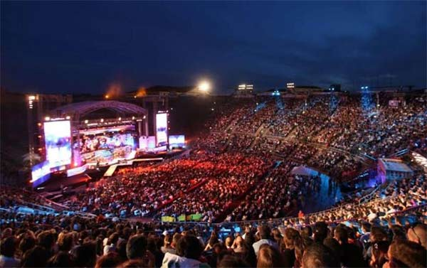 Music Awards 2019 all'Arena di Verona