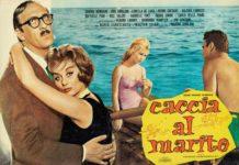 Caccia al marito, 1960, Regia Marino Girolami, fotobusta - Mostra Italiani al mare