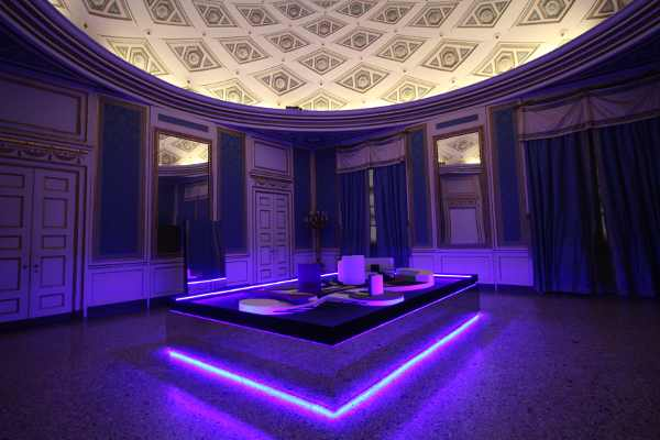Nanda Vigo, Palazzo Reale, Milano, 2019 opera Arch/arcology, 2 Photo Credit Marco Poma Courtesy Archivio Nanda Vigo