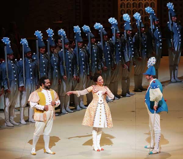 L'elisir d'amore di Gaetano Donizetti - Foto Brescia/Amisano - Teatro alla Scala