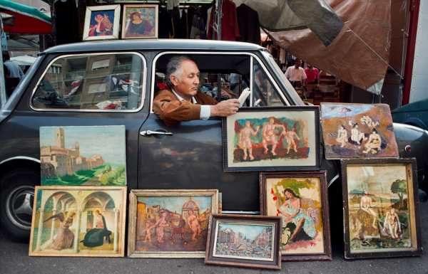 Steve McCurry, Roma, Italia, 1984 © Steve McCurry