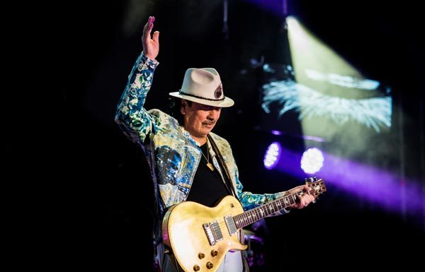 Carlos Santana - Photo credit: Roberto Finizio