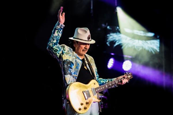Carlos Santana - Photo credit: Roberto Finizio