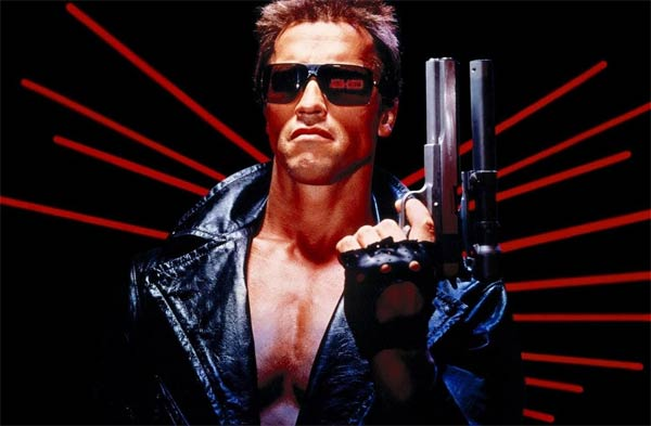 Schwarzenegger nel film Terminator
