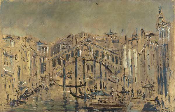 Filippo de Pisis, Ponte di Rialto