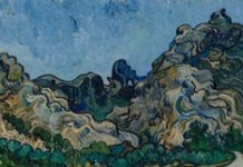 Vincent van Gogh, Montagne a Saint-Rémy (Montagnes à Saint-Rémy), Saint-Rémy-de-Provence, luglio 1889, Olio su tela, 72,8 × 92 cm, Solomon R. Guggenheim Museum, New York, Thannhauser Collection, Donazione Justin K. Thannhauser, 78.2514.24 © Solomon R. Guggenheim Foundation, New York (SRGF)