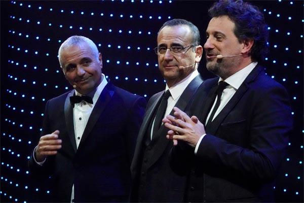 Giorgio Panariello, Carlo Conti e Leonardo Pieraccioni