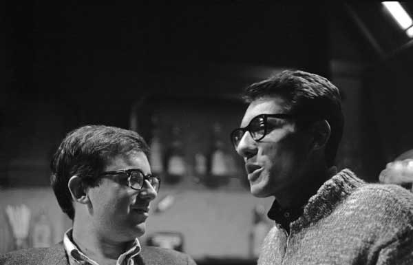 Cochi Ponzoni e Enzo Jannacci al Cab64, in via De Amicis, Milano, 1964 c.