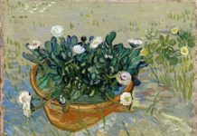 Vincent van Gogh (1853-1890). Margherite, Arles (Daisies, Arles), 1888. Olio su tela, 33x42 cm. Virginia Museum of Fine Arts, Collection of Mr. and Mrs. Paul Mellon, 2014.207. Image © Virginia Museum of Fine Arts