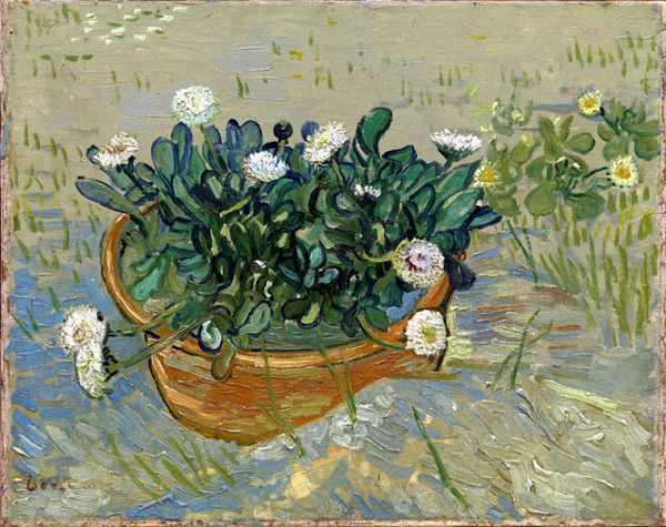 Vincent van Gogh (1853-1890). Margherite, Arles (Daisies, Arles), 1888. Olio su tela, 33x42 cm. Virginia Museum of Fine Arts, Collection of Mr. and Mrs. Paul Mellon, 2014.207. Image © Virginia Museum of Fine Arts