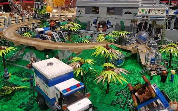 Mattoncini Lego al Bricks in Florence Festival