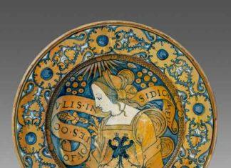 Piatto, Deruta, 1510/1530 ca. - Mostra Raphael ware. I colori del Rinascimento