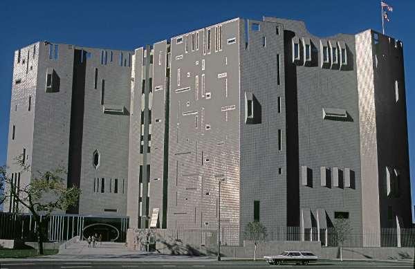 Denver Art Museum, Denver 1965 - 71 © Gio Ponti Archives