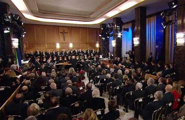Auguri di Natale in musica: il Teatro dell'Opera di Roma alla Corte dei conti