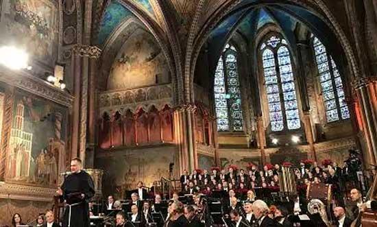 Concerto di Natale da Assisi