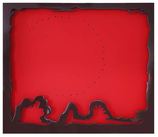 Lucio Fontana, Concetto spaziale, teatrino, 1965-66