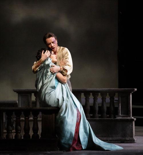 Tosca - Anna Netrebko e Francesco Meli - Photo credit Brescia/Amisano – Teatro alla Scala