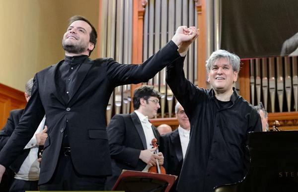 Sabato classica, Francesco Piemontesi e Antonio Pappano